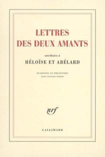 Lettres des deux amants : attribuées à Héloïse et Abélard -