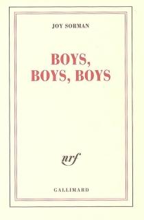 Boys, boys, boys - JoySorman