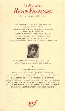 Nouvelle revue française, n° 574 -