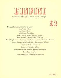 Infini (L'), n° 93 -