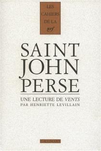 Cahiers Saint-John Perse - HenrietteLevillain