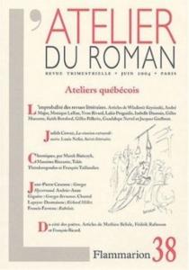 Atelier du roman (L'), n° 38 -