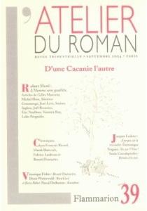 Atelier du roman (L'), n° 39 -