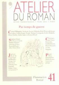 Atelier du roman (L'), n° 41 -