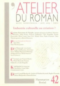 Atelier du roman (L'), n° 42 -