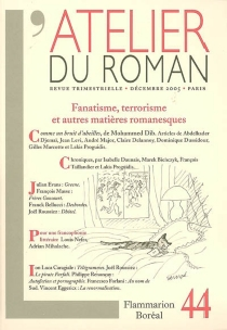 Atelier du roman (L'), n° 44 -