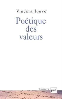 Poétique des valeurs - VincentJouve