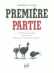 Première partie - FrédéricPajak