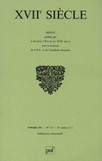 Dix-septième siècle, n° 211 -