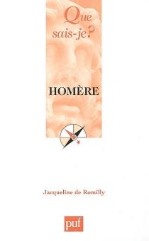 Homère - Jacqueline deRomilly