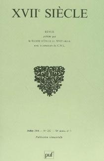Dix-septième siècle, n° 232 -