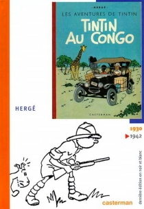 Les aventures de Tintin et Milou en noir et blanc - Hergé