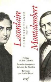 Correspondance inédite : 1830-1861 - Henri-DominiqueLacordaire