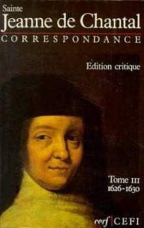 Correspondance - Jeanne de Chantal