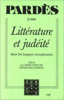 Littérature et judéité dans les langues européennes -
