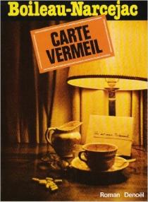 Carte Vermeil - PierreBoileau