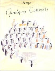 Quelques concerts - Jean-JacquesSempé
