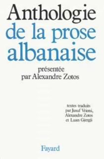Anthologie de la prose albanaise -
