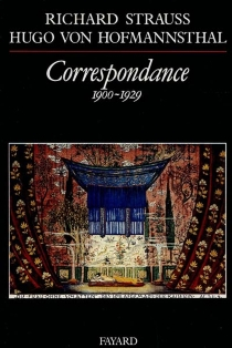 Correspondance - Hugo vonHofmannsthal