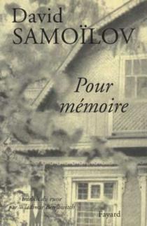 Pour mémoire - DavidSamoïlov