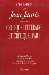 Oeuvres de Jean Jaurès - JeanJaurès