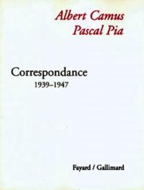 Correspondance - AlbertCamus