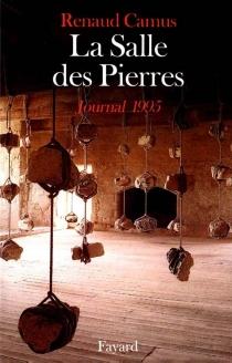 La salle des pierres, journal 1995 - RenaudCamus