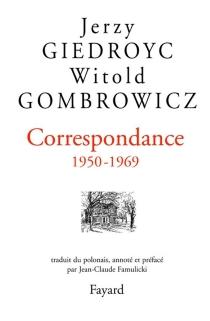 Correspondance, 1950-1969 - JerzyGiedroyc