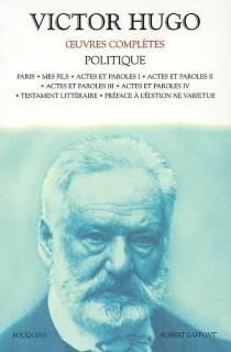 Oeuvres complètes | Politique - VictorHugo