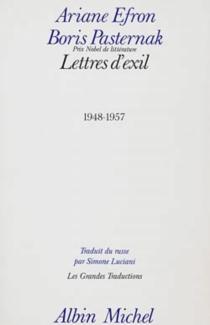 Lettres d'exil : 1948-1957 - Ariadna SergeevnaEfron