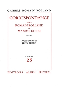 Correspondance Romain Rolland-Maxime Gorki - RomainRolland