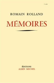 Mémoires| Fragments du Journal - Romain Rolland