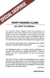 Un jour tu verras... - Mary HigginsClark