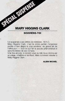 Souviens-toi - Mary HigginsClark