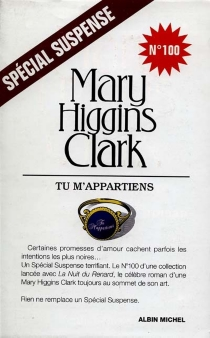 Tu m'appartiens - Mary Higgins Clark