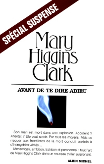 Avant de te dire adieu - Mary HigginsClark