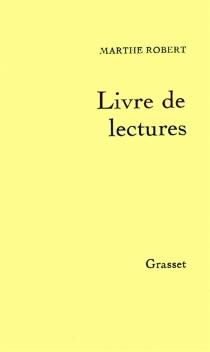 Livre de lectures - MartheRobert