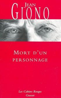 Mort d'un personnage - JeanGiono
