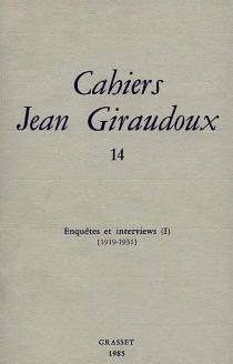 Cahiers Jean Giraudoux, n° 14 - JeanGiraudoux