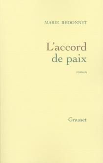 L'accord de paix - MarieRedonnet