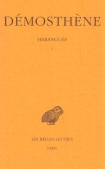 Harangues | Volume 1 - Démosthène