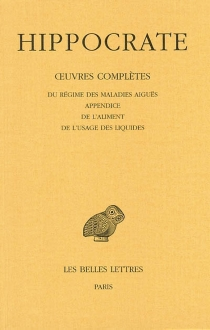 Oeuvres complètes | Volume 6-2 - Hippocrate