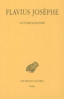 Autobiographie - Flavius Josèphe