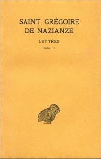 Correspondance - Grégoire de Nazianze