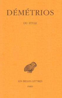 Du style - Démétrios