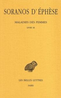 Maladies des femmes - Soranos d'Éphèse