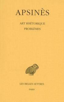 Art rhétorique| Problèmes à faux-semblant - GadarenusApsines