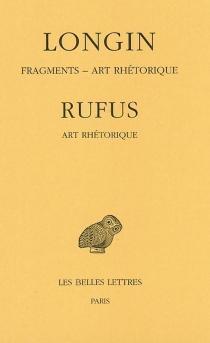 Fragments  Art rhétorique  Art rhétorique -