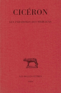 Les paradoxes des stoïciens - Cicéron