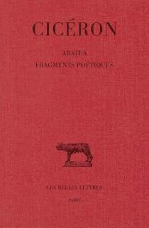 Aratéa| Fragments poétiques - Cicéron
